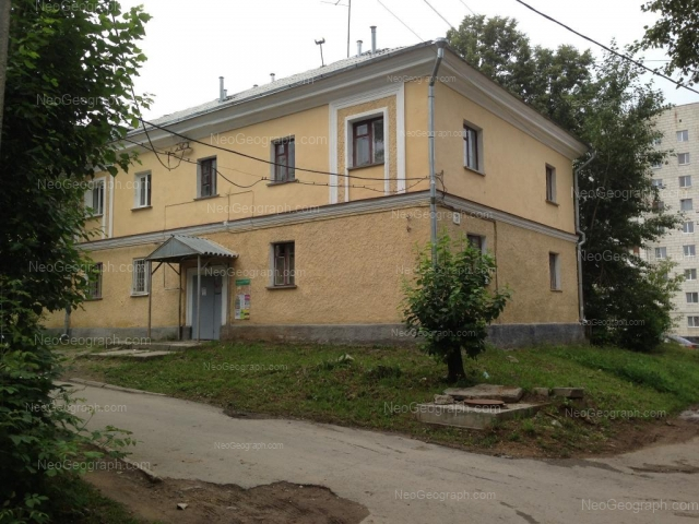 Address(es) on photo: Entusiastov street, 30А, Yekaterinburg