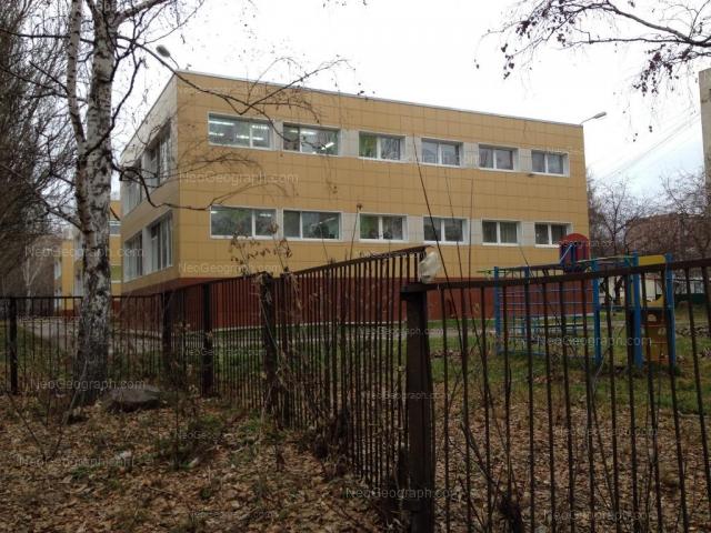 Вид на здание с адресом переулок Встречный, 7А, Екатеринбург, детский сад 504