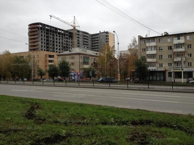 Address(es) on photo: Mashinnaya street, 3, 7, 11, Yekaterinburg