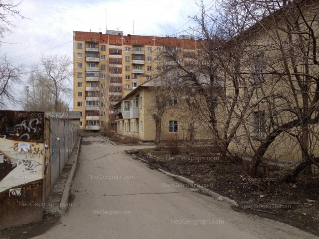 Адрес(а) на фотографии: Комвузовская улица, 19, 19а, 21г, Екатеринбург