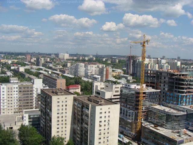 Address(es) on photo: Mamina-Sibiriaka street, 52, 54, 85, 85Б, 101, Yekaterinburg