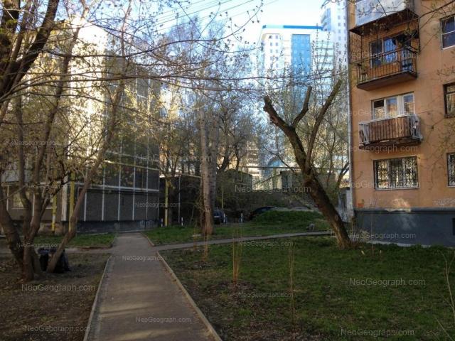 Адрес(а) на фотографии: улица Пальмиро Тольятти, 15В, Екатеринбург