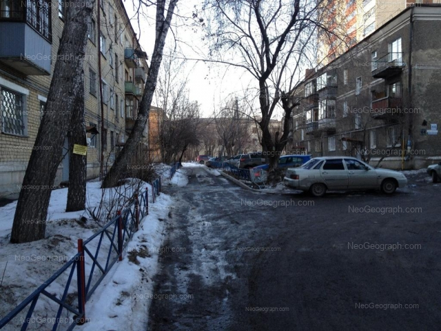 Address(es) on photo: Sulimova street, 59Б, Yekaterinburg