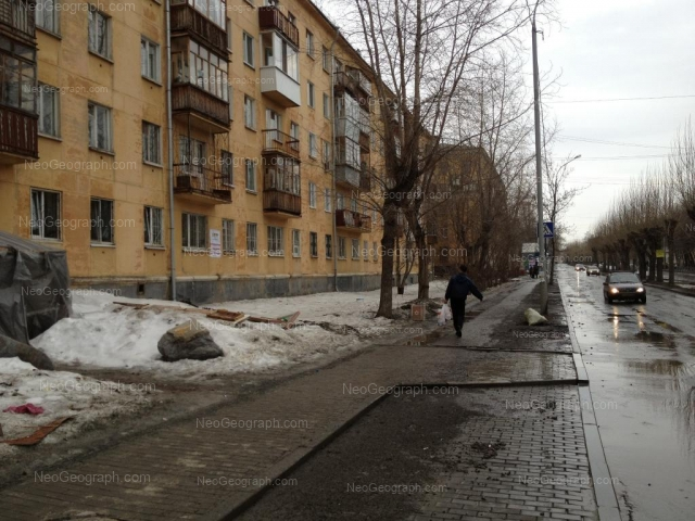 Адрес(а) на фотографии: улица Бабушкина, 22, Екатеринбург