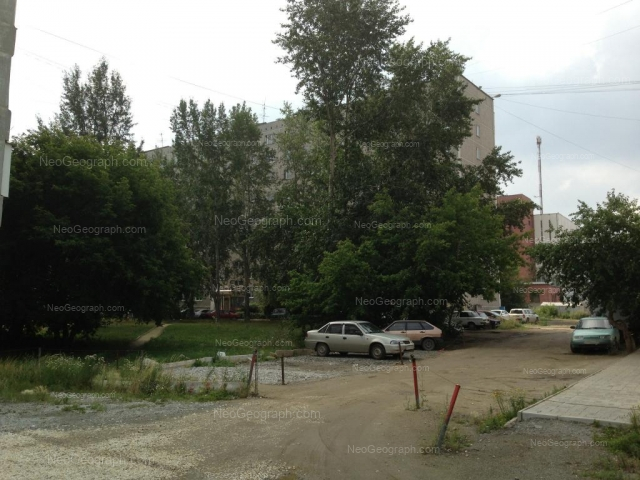 Адрес(а) на фотографии: улица Фрезеровщиков, 39, Екатеринбург