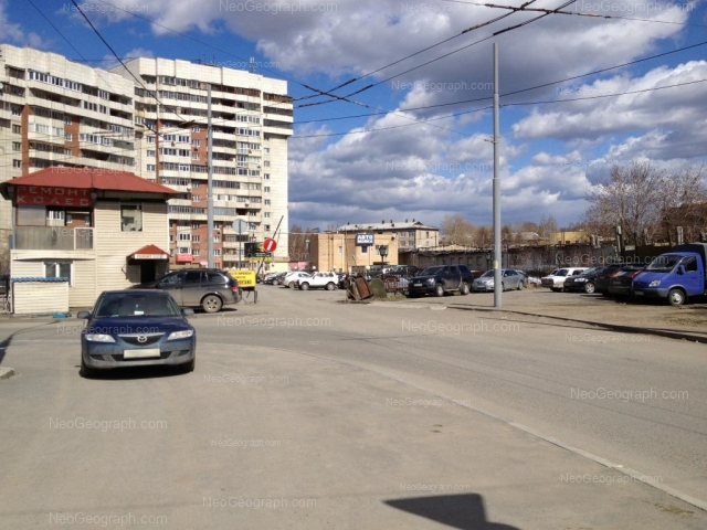 Адрес(а) на фотографии: улица Сулимова, 6, Екатеринбург