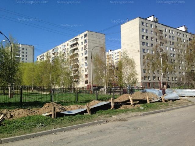 Адрес(а) на фотографии: Ангарская улица, 52/3, 54, 54б, 56, Екатеринбург