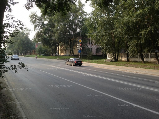 Адрес(а) на фотографии: улица Баумана, 32, Екатеринбург