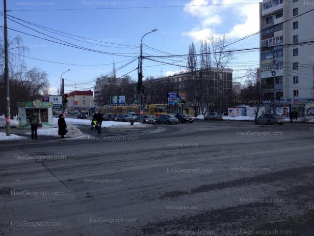 Адрес(а) на фотографии: Белореченская улица, 13/1, 15, 17/1, Екатеринбург
