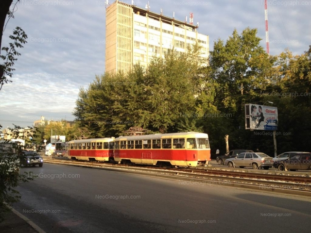 Address(es) on photo: Mira street, 23, 32, Yekaterinburg