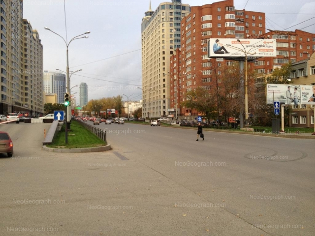 Адрес(а) на фотографии: улица Белинского, 83, 85, 86, 91, Екатеринбург