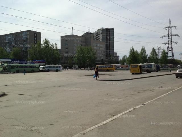 Вид на здание с адресом Бебеля 160, Екатеринбург (детская поликлиника)