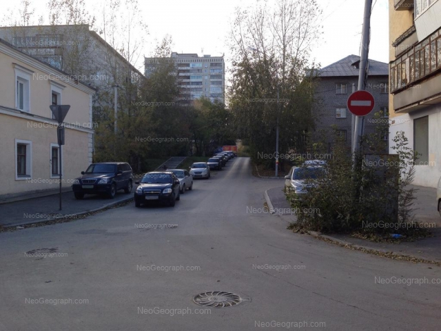 Адрес(а) на фотографии: переулок Чаадаева, 2, 4, 5, Екатеринбург