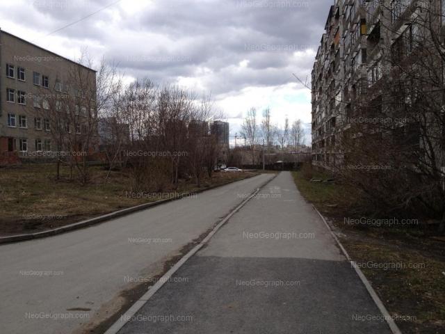 Address(es) on photo: Opalihinskaya street, 15, 17, 19, Yekaterinburg