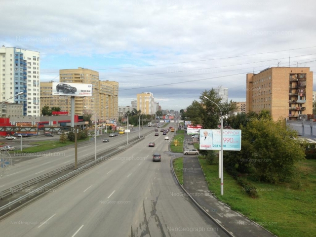 Адрес(а) на фотографии: улица Токарей, 33, 52, Екатеринбург