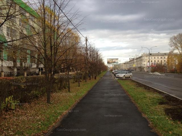 Адрес(а) на фотографии: Верхисетский бульвар, 13, 18, 23, Екатеринбург