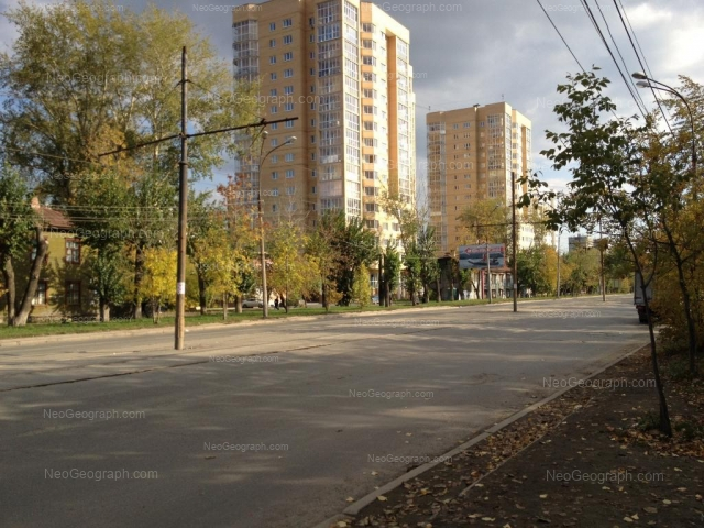 Address(es) on photo: 8 Marta street, 169, 171, 173, Yekaterinburg