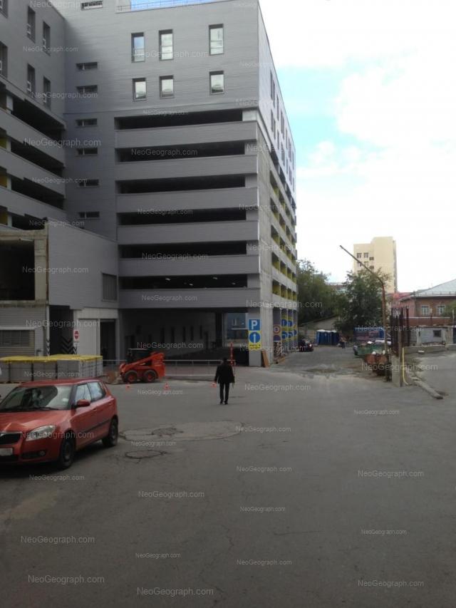 Здание с адресом улица Малышева, 51литА, Екатеринбург, Свердловская область. Паркинг БЦ Высоцкий