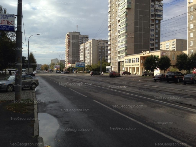 Адрес(а) на фотографии: улица Викулова, 32Б, 38А, 38Б, Екатеринбург