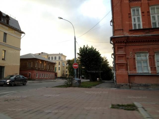 Адрес(а) на фотографии: улица Сакко и Ванцетти, 36, 40, Екатеринбург