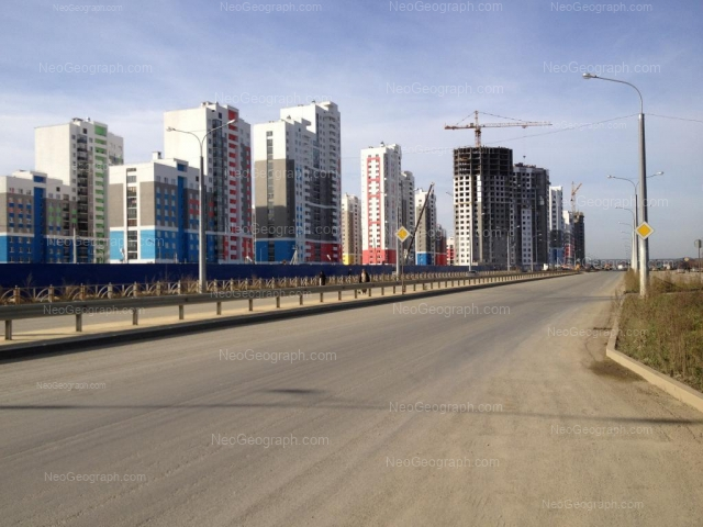 Address(es) on photo: Krasnolesiya street, 137, 139, 145, Yekaterinburg
