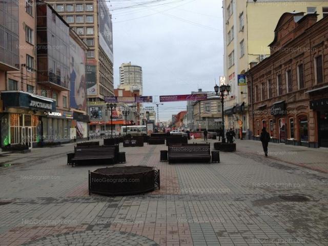 Адрес(а) на фотографии: улица Вайнера, 9А, 11, 16А, 24, Екатеринбург