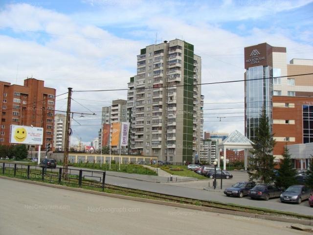 Адрес(а) на фотографии: улица Шейнкмана, 100, 104, 104А, Екатеринбург