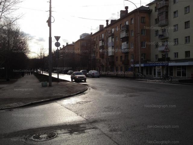 Адрес(а) на фотографии: Мельковская улица, 9, 11, 13, Екатеринбург