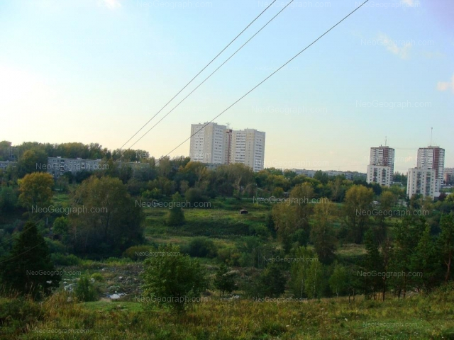 Address(es) on photo: Olega Koshevogo street, 44, 46, Yekaterinburg