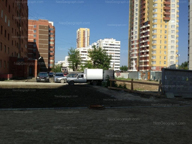 Адрес(а) на фотографии: улица Вилонова, 8, 14а, 16, 18, 22, Екатеринбург