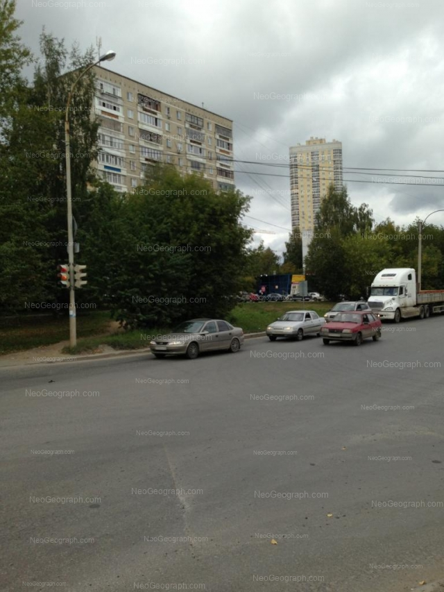 Address(es) on photo: Zenitchikov street, 16, Yekaterinburg