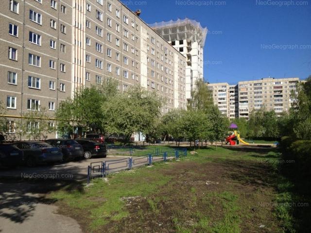 Address(es) on photo: Reshetnikova driveway, 4, 6, Yekaterinburg