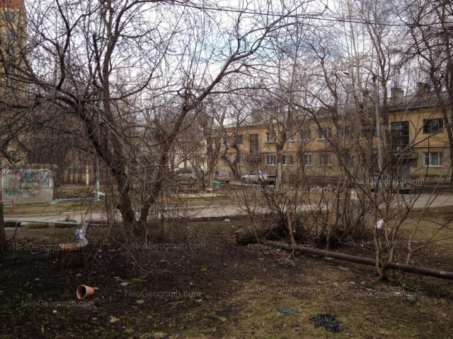 Адрес(а) на фотографии: Комвузовская улица, 21а, 21б, 21г, Екатеринбург