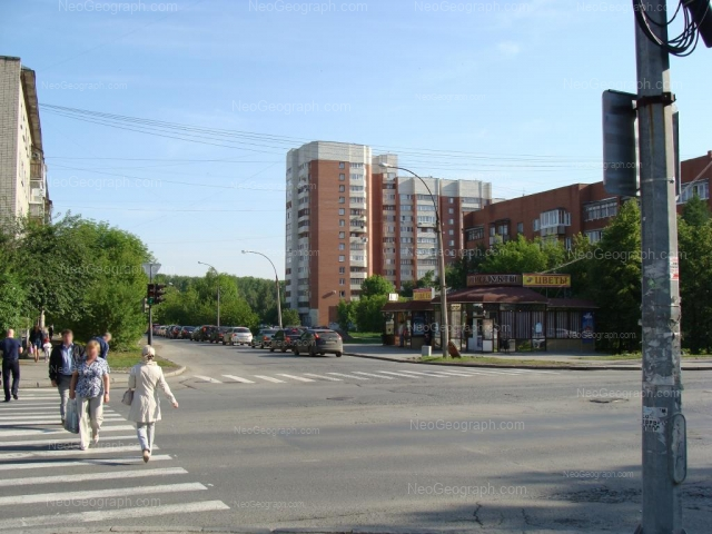 Адрес(а) на фотографии: улица Серова, 6, Екатеринбург