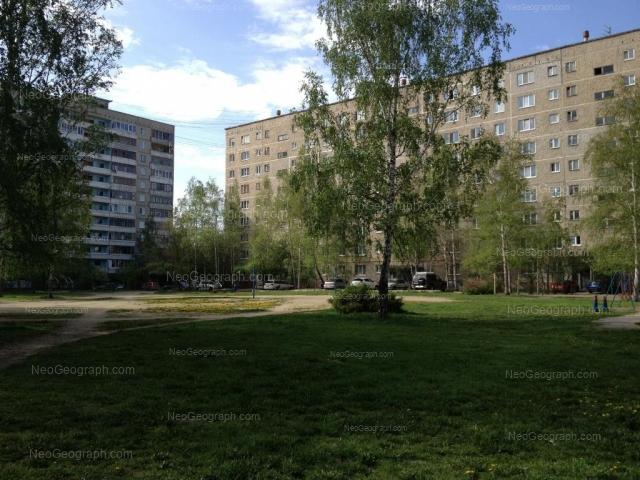Address(es) on photo: Reshetnikova driveway, 6, Yekaterinburg