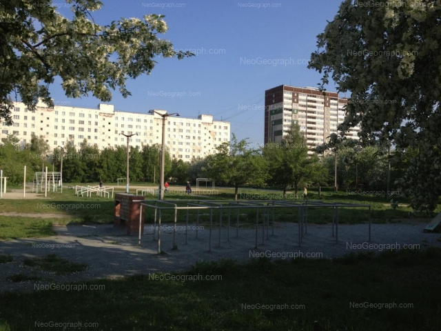 Адрес(а) на фотографии: улица Академика Бардина, 23, 25/1, 25/2, Екатеринбург