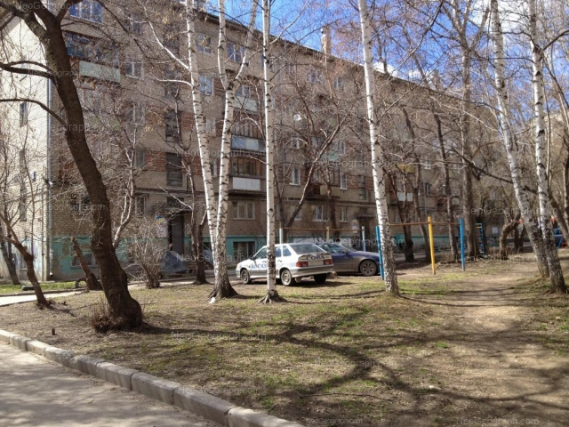 Address(es) on photo: Mira street, 1Б, Yekaterinburg