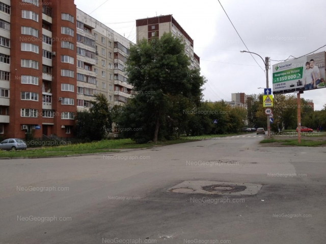 Адрес(а) на фотографии: улица Серова, 25, Екатеринбург