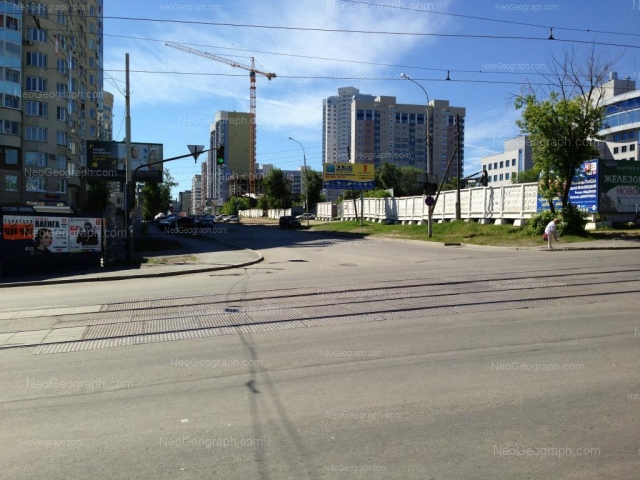 Адрес(а) на фотографии: улица Шейнкмана, 84, 90, Екатеринбург