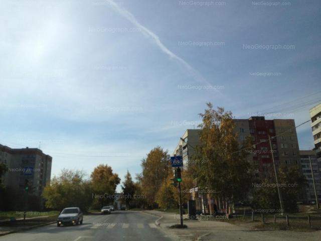 Адрес(а) на фотографии: Бисертская улица, 23, 25, 26, 27А, Екатеринбург