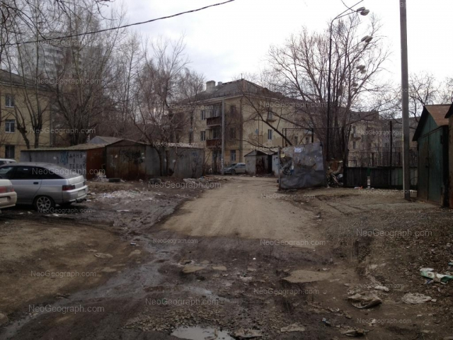 Address(es) on photo: Studencheskaya street, 6А, 6Б, Yekaterinburg