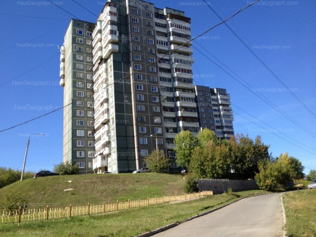 Адрес(а) на фотографии: бульвар Есенина, 4, 6, Екатеринбург