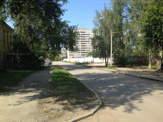 Адрес(а) на фотографии: Коллективный переулок, 21, Екатеринбург