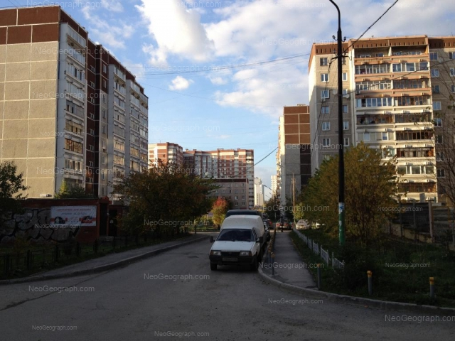 Address(es) on photo: Rodonitovaya street, 3 к2, 5, Yekaterinburg