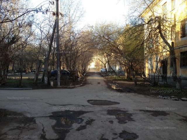 Адрес(а) на фотографии: улица Данилы Зверева, 20, 22, Екатеринбург