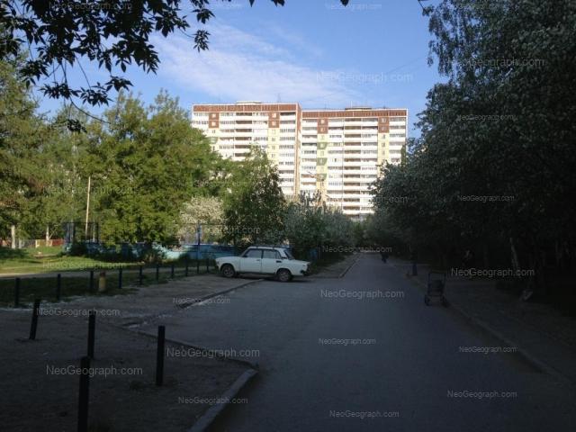 Адрес(а) на фотографии: улица Академика Бардина, 25/1, 25/2, Екатеринбург