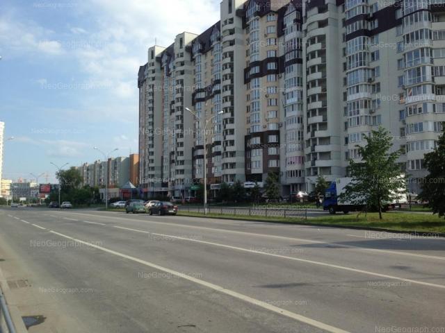 Address(es) on photo: Marshala Zhukova street, 11, 13, Yekaterinburg
