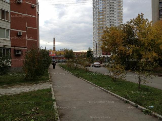 Address(es) on photo: Mashinistov street, 3, Yekaterinburg
