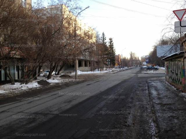 Address(es) on photo: Universitetskiy lane, 5, 7, 9, Yekaterinburg