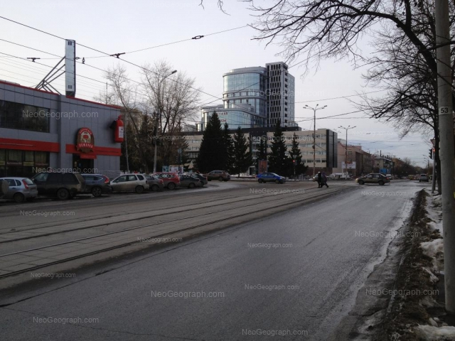 Адрес(а) на фотографии: улица Мамина-Сибиряка, 111, Екатеринбург